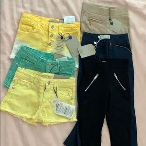 Toddler shorts & pants. (3T-4T)